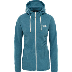 The North Face Mezzaluna Full-Zip Hoodie Women storm blue stripe